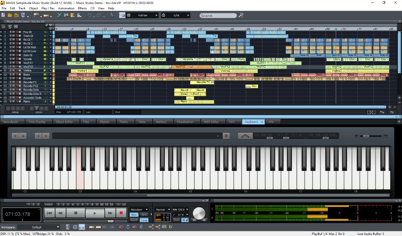 MAGIX Samplitude Music Studio Crack - AZcrack.org